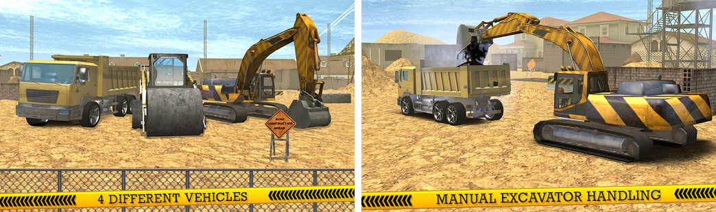 city construction road builder