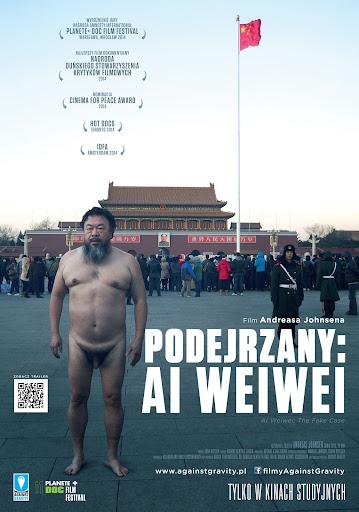 Polski plakat filmu 'Podejrzany: Ai Weiwei'