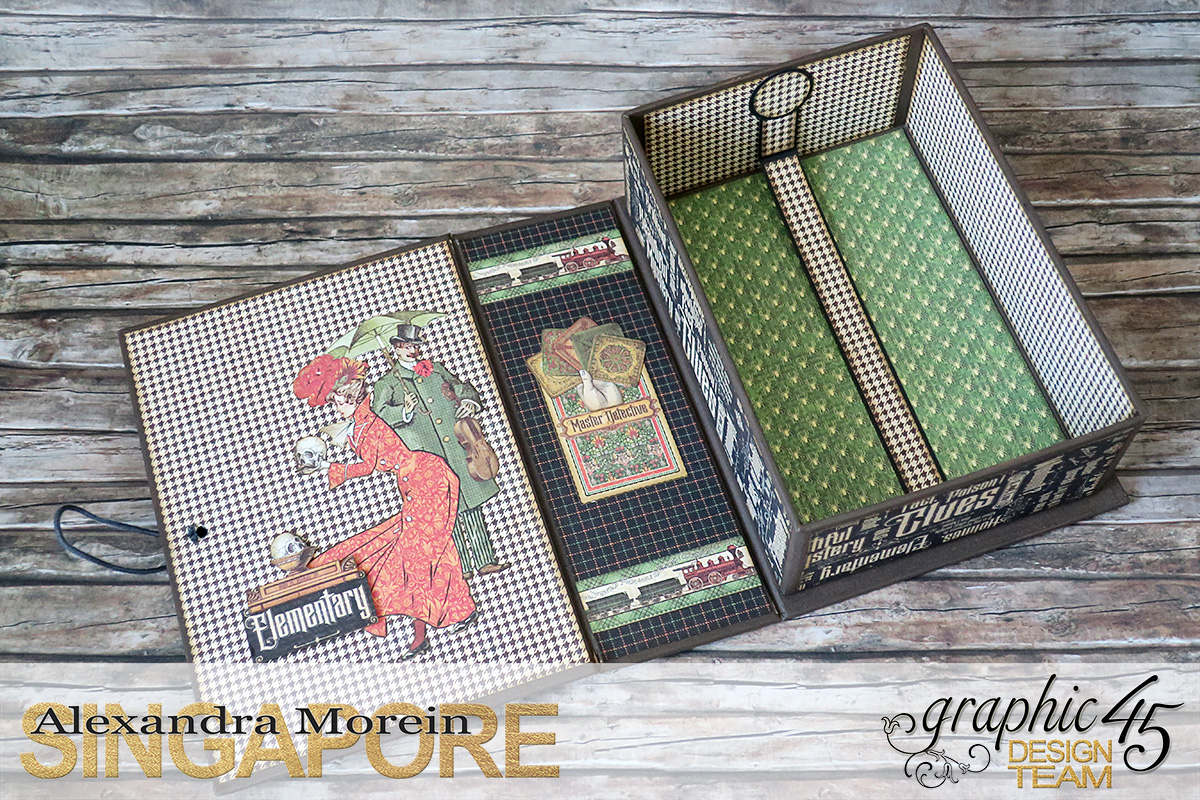 Master Detective Box and Albums, Project by Alexandra Morein, Product by Graphic 45, Photo 10.jpg