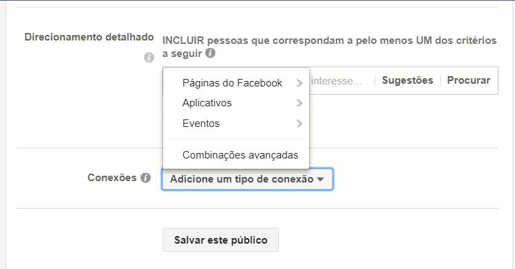 como criar conexões no facebook