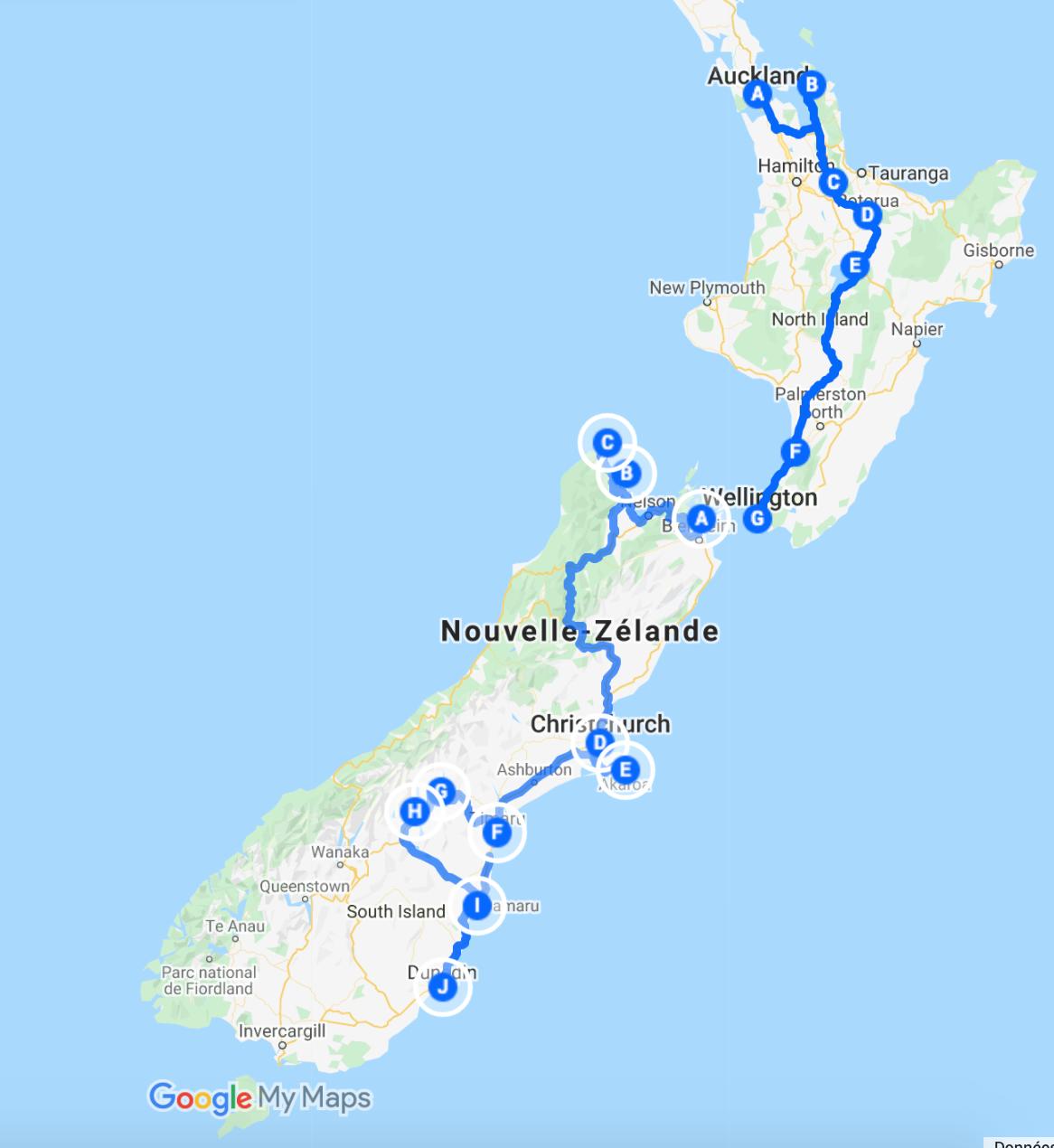 road-trip en Nouvelle-Zélande