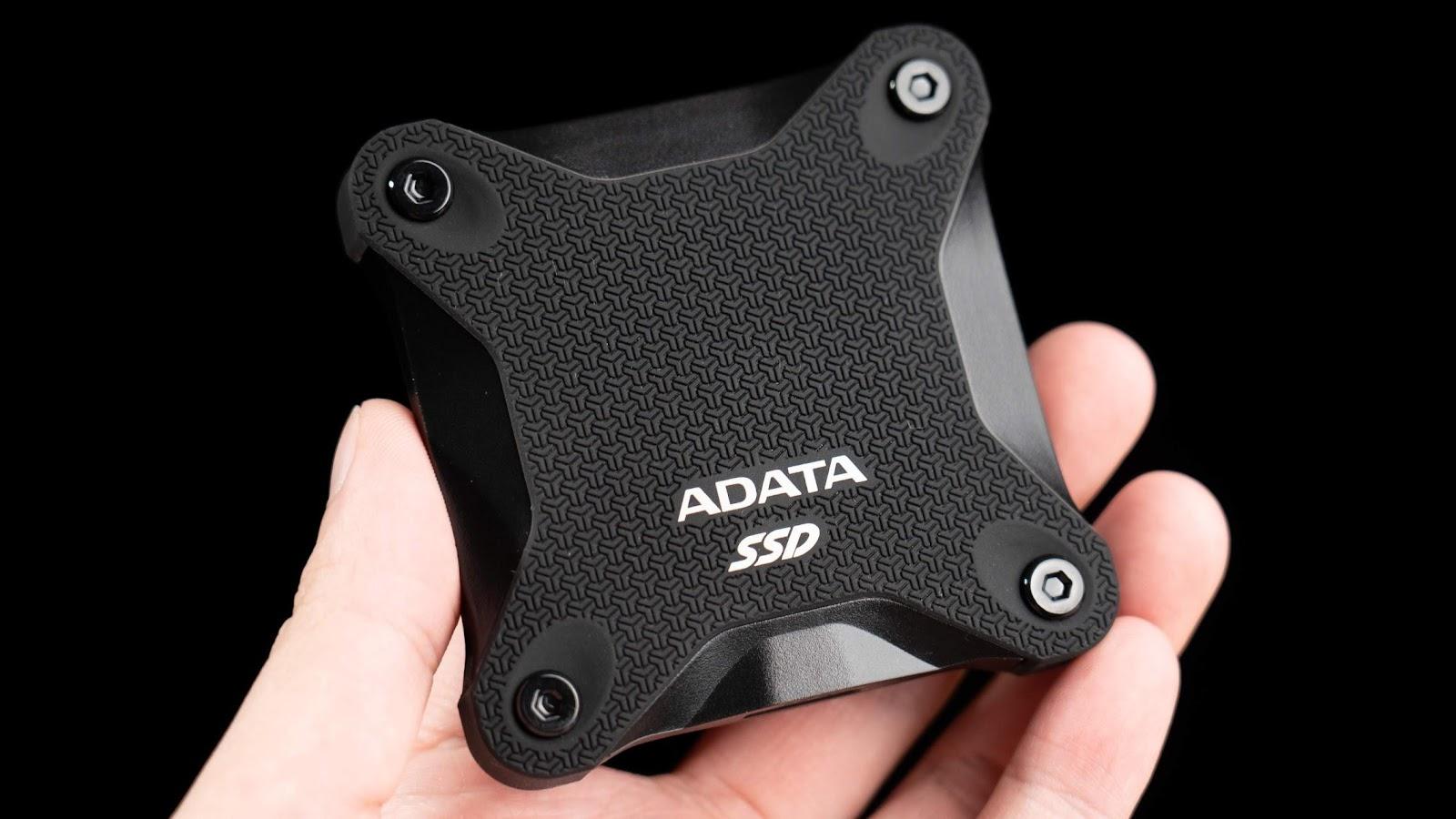 Xbox One X 外接 SSD 遊戲實測 ADATA SD600Q 外接式固態硬碟開箱
