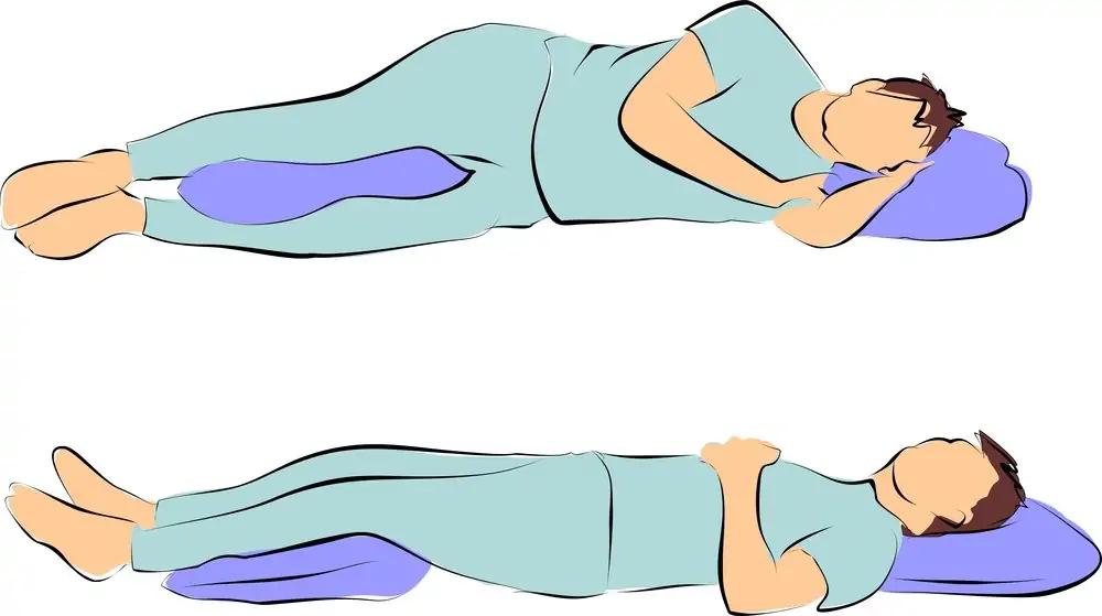 Chỉnh dáng ngủ để phòng chóng đau dây thần kinh tọa