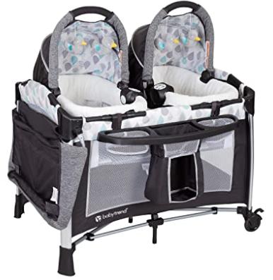 Baby Trend Go Lite Twins Nursery Center