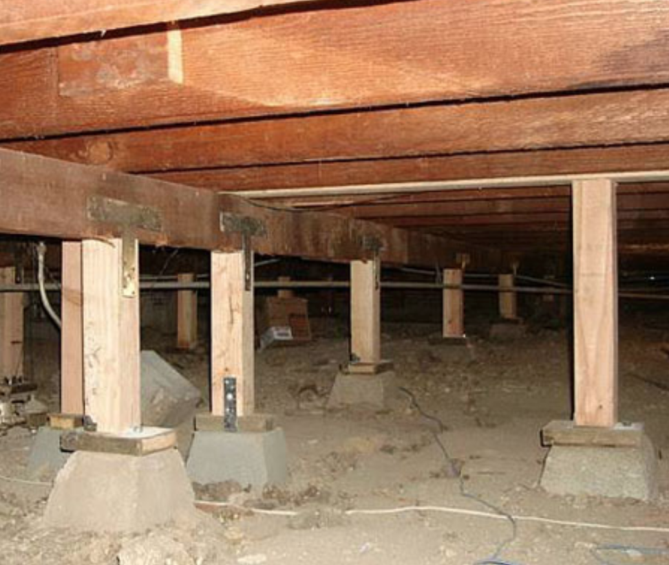 Pier/beam foundation