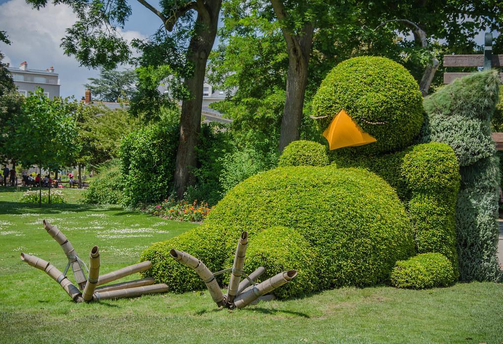Le poussin du Jardin des Plantes, Voyage à Nantes 2014   Flickr