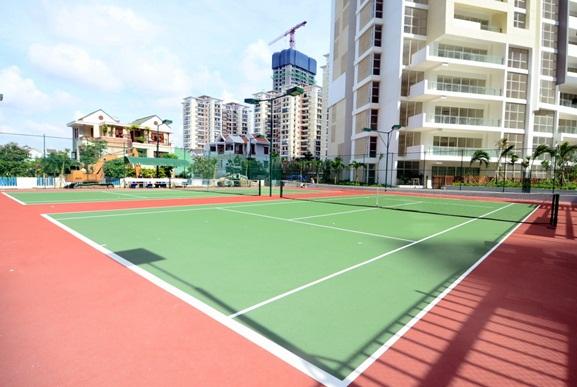 Sân tennis dự án The Estella