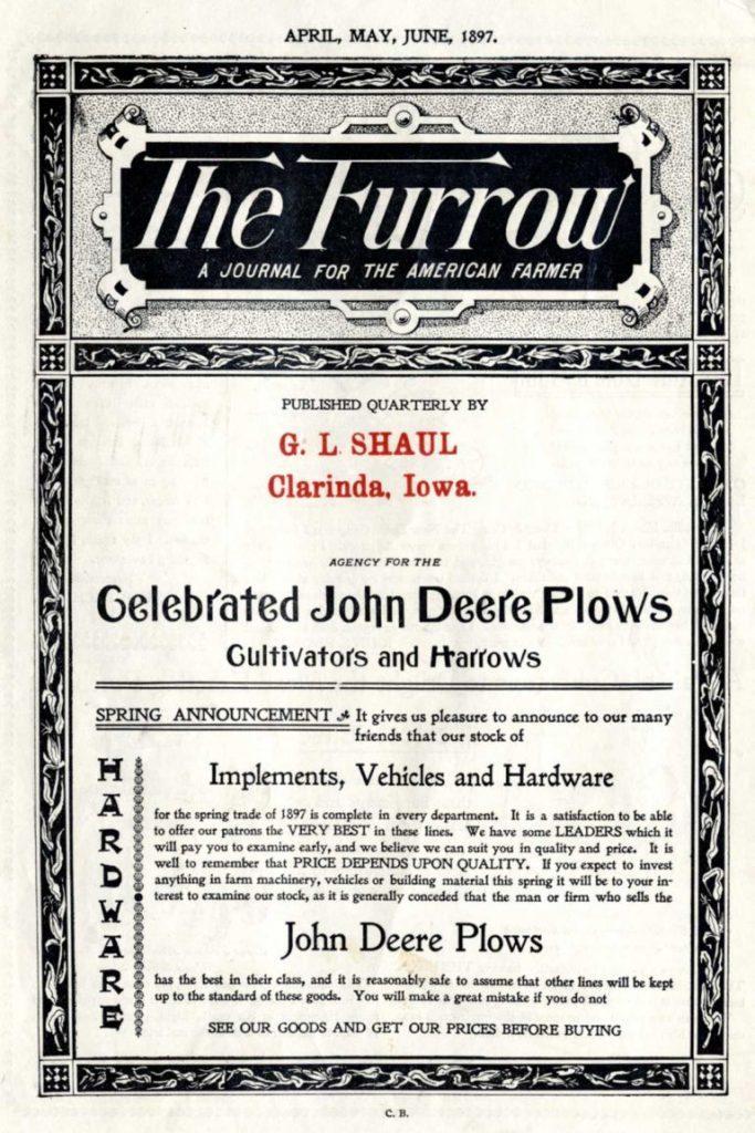 The Furrow Magazine 1897