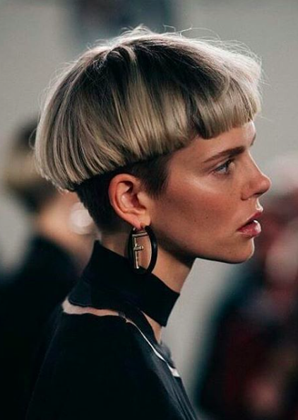 French Bowl Cut