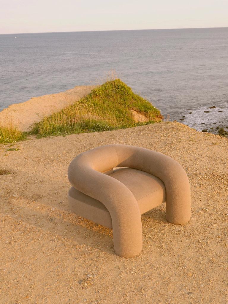 tubular armchair trend
