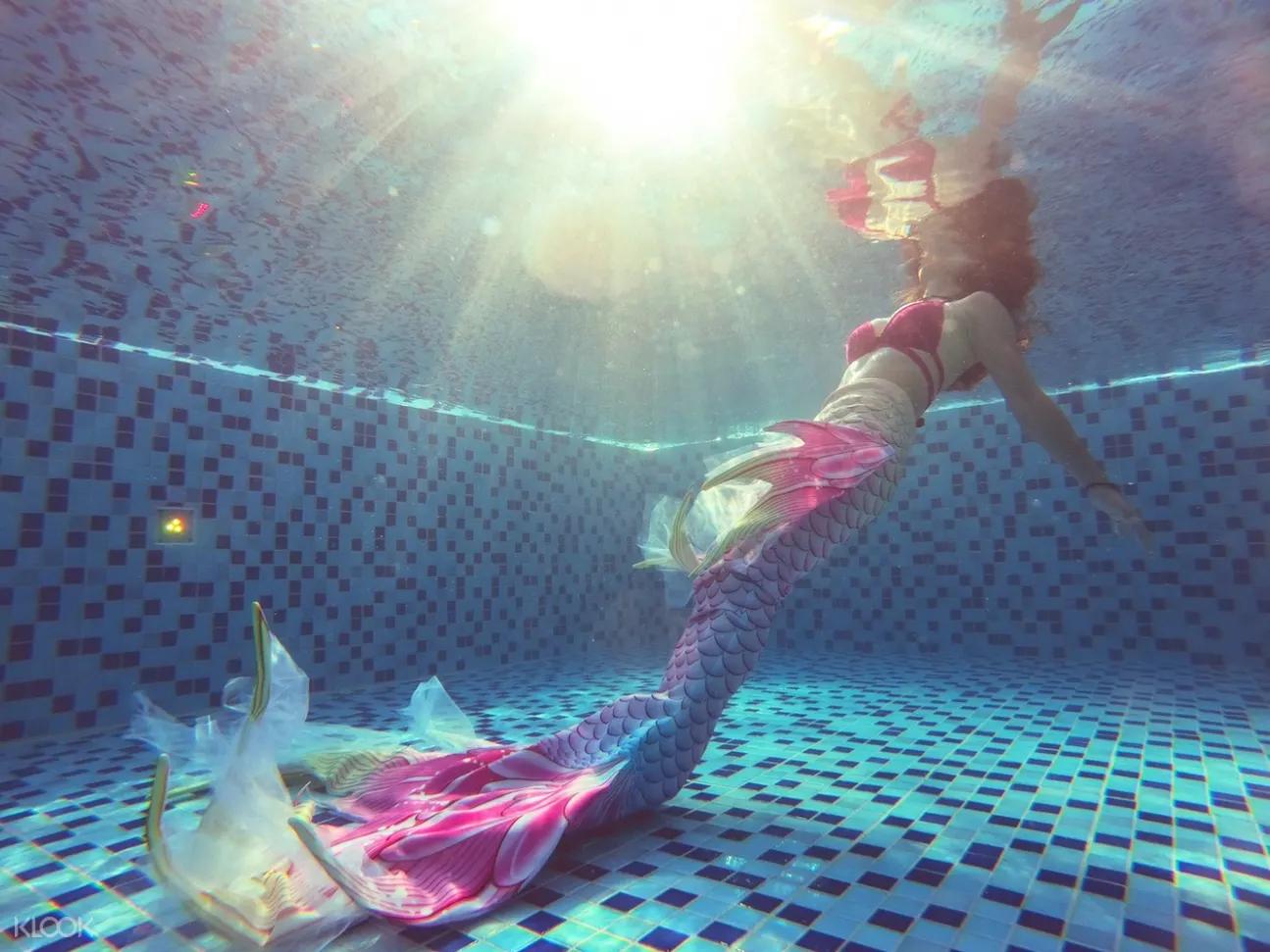美人魚公主體驗