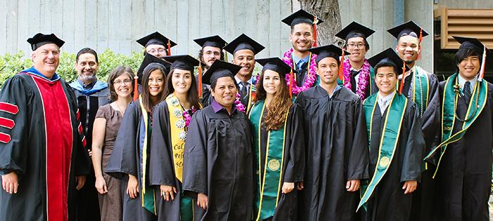 2016 LAES Spring Graduates