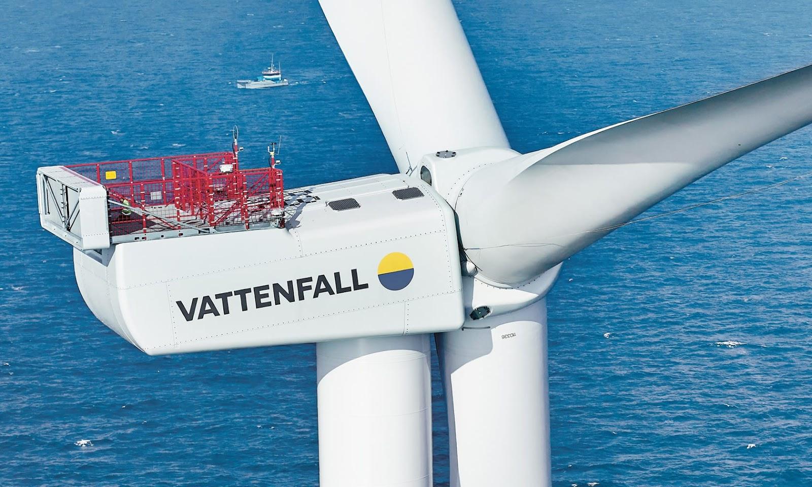 Éolienne offshore Vattenfall