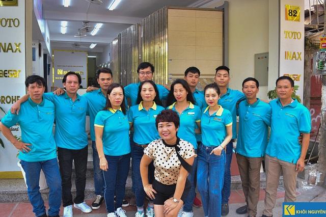 Đội ngũ nhân viên tại Khôi Nguyên