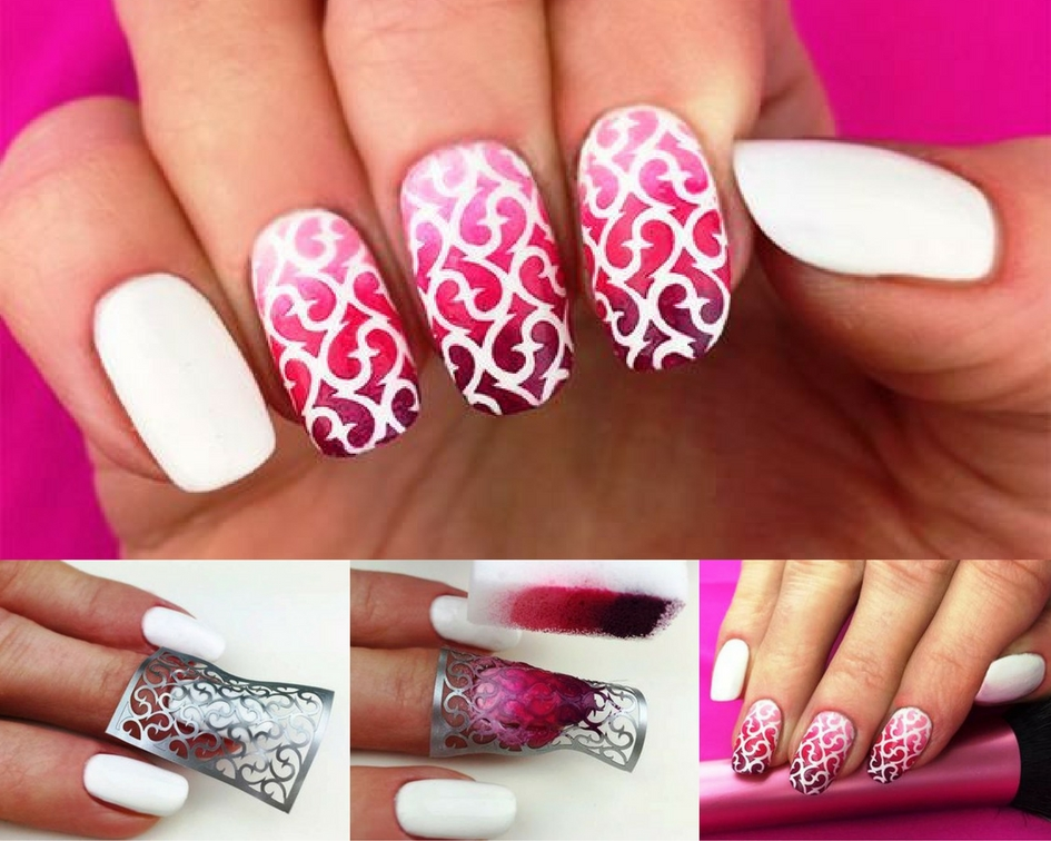 12 nail designs you can do on your own top beauty and lifestyle besides a great variety of stencils allows you to experiment with your nails and get new design prinsesfo Gallery