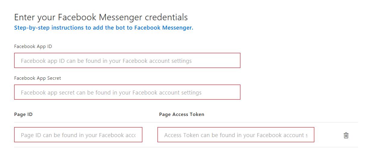 Azure Bot Service: Building Facebook Messenger Bot - TechNet