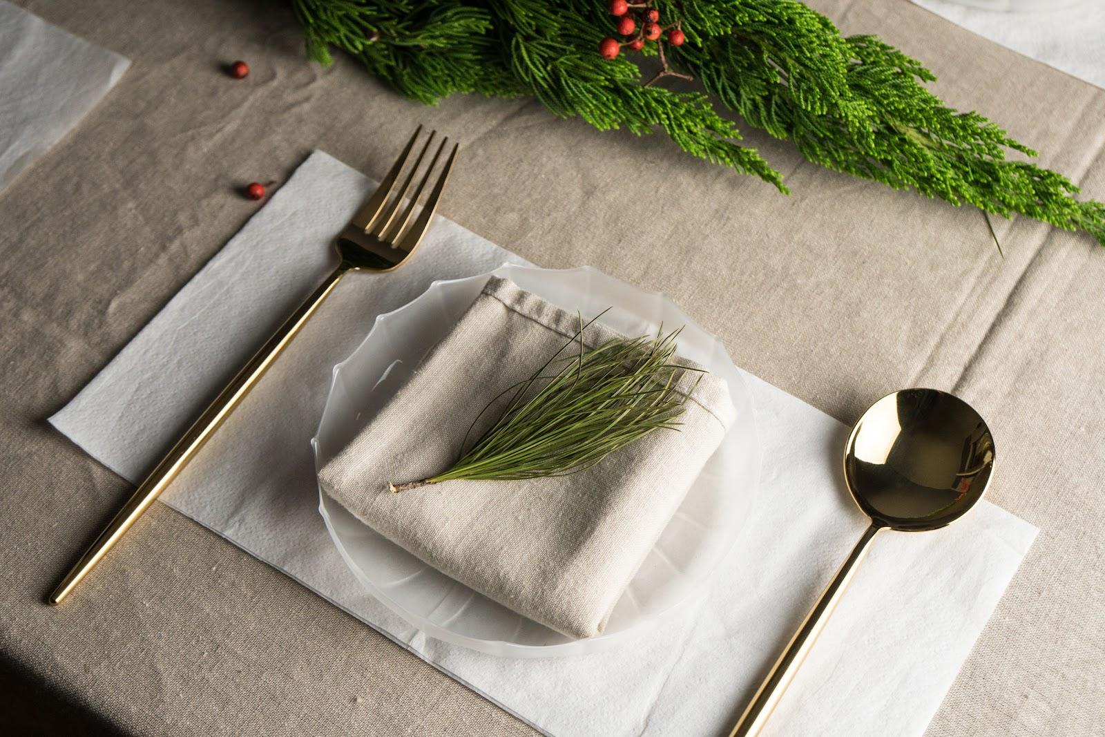 餐桌佈置 聖誕 2020聖誕節 聖誕佈置 裝飾