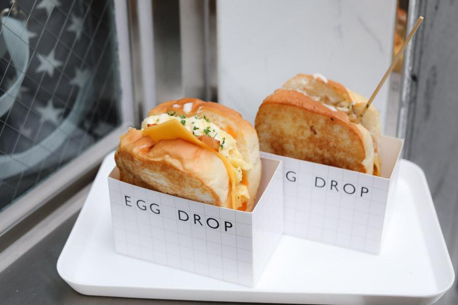 4. Egg Drop แซนวิชไข่ สไตล์เกาหลี
