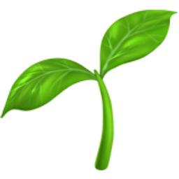 Seedling Emoji (U+1F331)