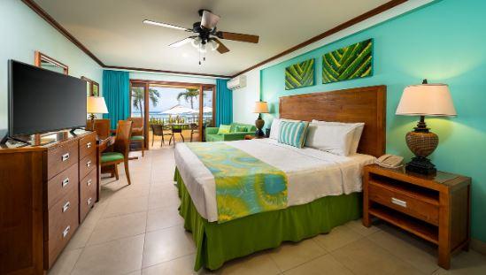 showcasing a hotel room at the yellowbird hotel