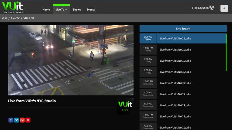 VUit Dashboard - Best Free IPTV Apps for Live TV Streaming v2