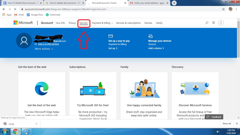 How To Delete Xbox Account