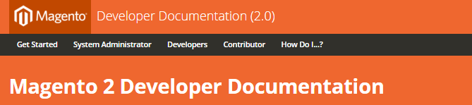 Magento 2 themes: Developer Documentation