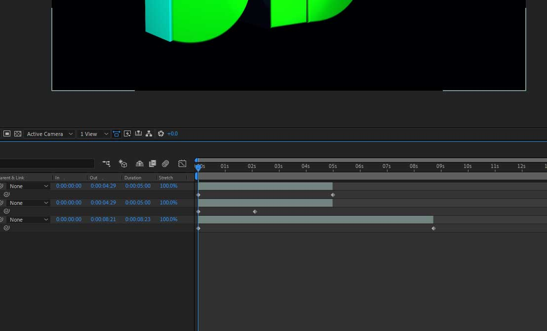 keyframes in after effects