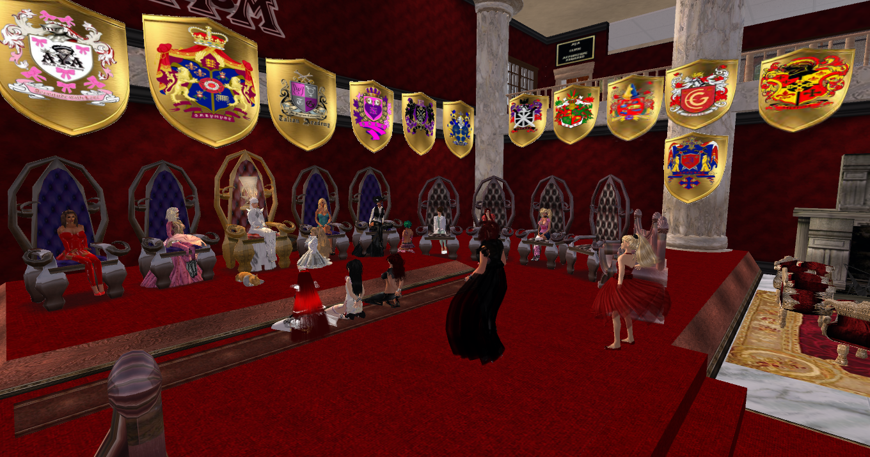 Throne room at AYA BDSM Sissy Maid Sanctuary