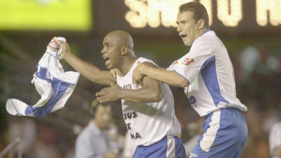 1º gol do Santo André contra o Flamengo
