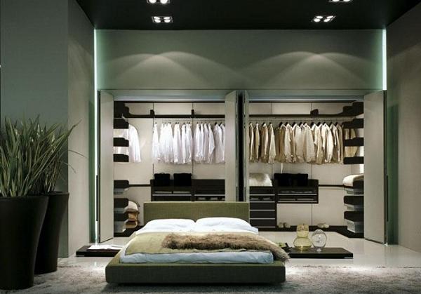 Phòng ngủ có phòng thay đồ tiện và sang