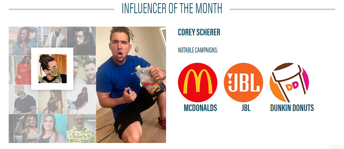 Influencer of the month