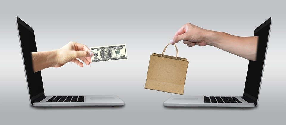 imagem de compra e venda