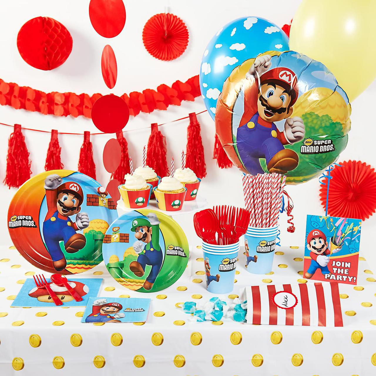 The Ten Best Super Mario Brothers Party Ideas ThePartyWorks