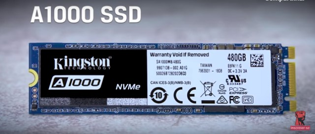 SSD M.2 Kingston 240GB A1000 SA1000M8/240G
