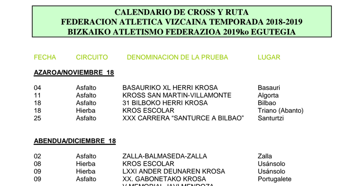 2018-19 Calendario-Egutegia cross-ruta.pdf - Google Drive