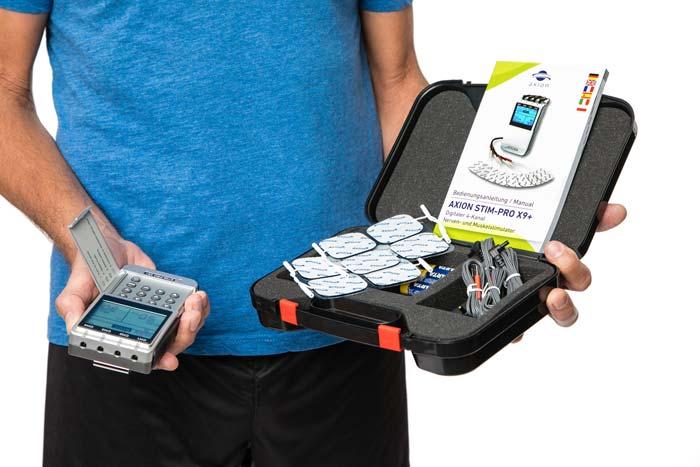 Ajustes EMS electroestimuladores | axion Shop