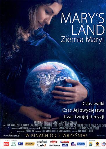 Przód ulotki filmu 'Mary's Land. Ziemia Maryi'