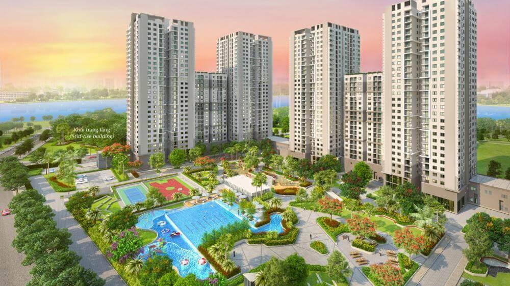 Dự án Phú Mỹ Hưng  cam kết về cơ sở hạ tầng cũng như cảnh quan