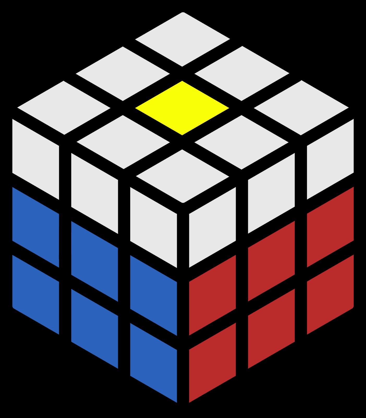 kondisi 3 rumus cross kuning sisi atas