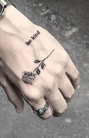 Rose Hand Tattoo Designs