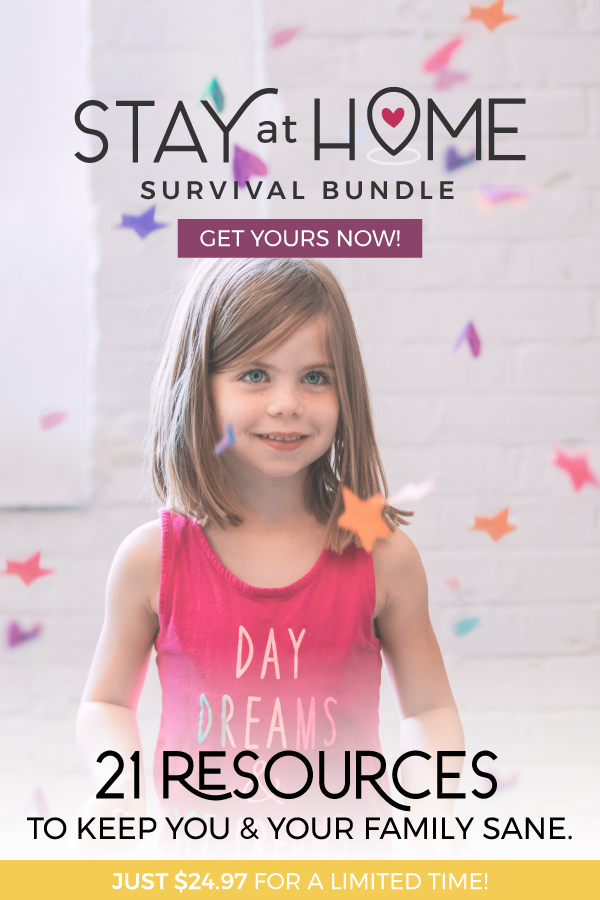 Stay at home Survival Bundle ad