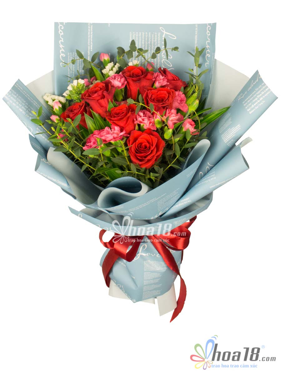 hộp hoa tặng 8 tháng 3