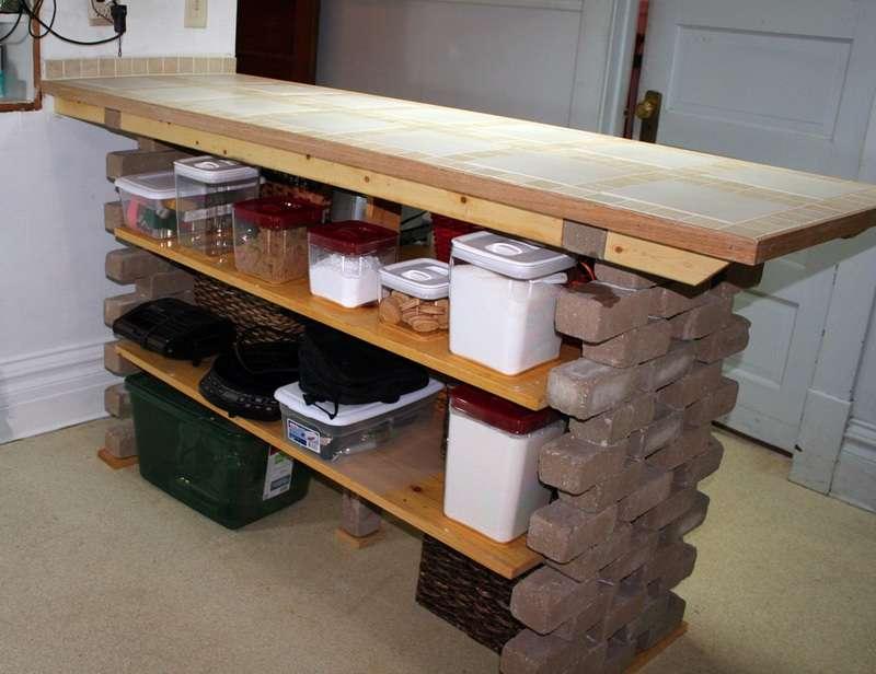 Функциональная модель стола из подручных материалов