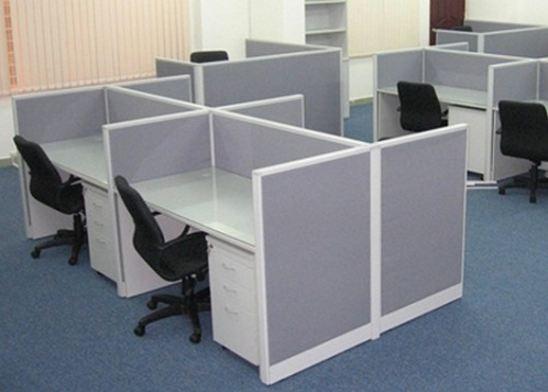 Vách ngăn văn phòng nỉ VNN07 - Nội thất R.O.F