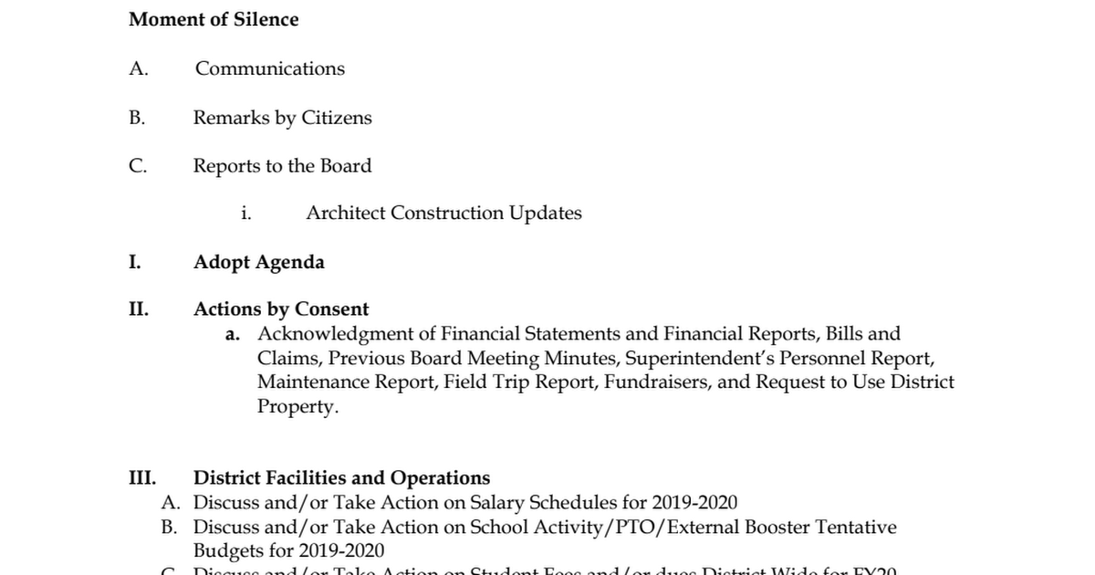 19-05 May 20, 2019 Agenda.pdf