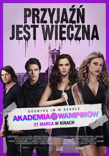 Polski plakat filmu 'Akademia Wampirów'