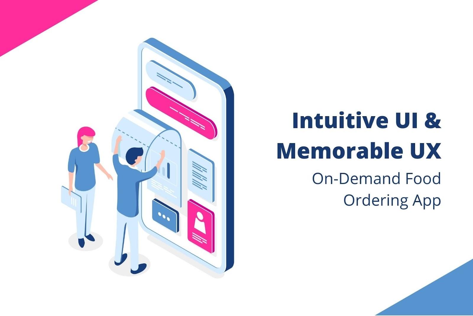 UI UX On-demand food ordering app