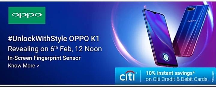 OPPO K1 Flipkart Mobiles