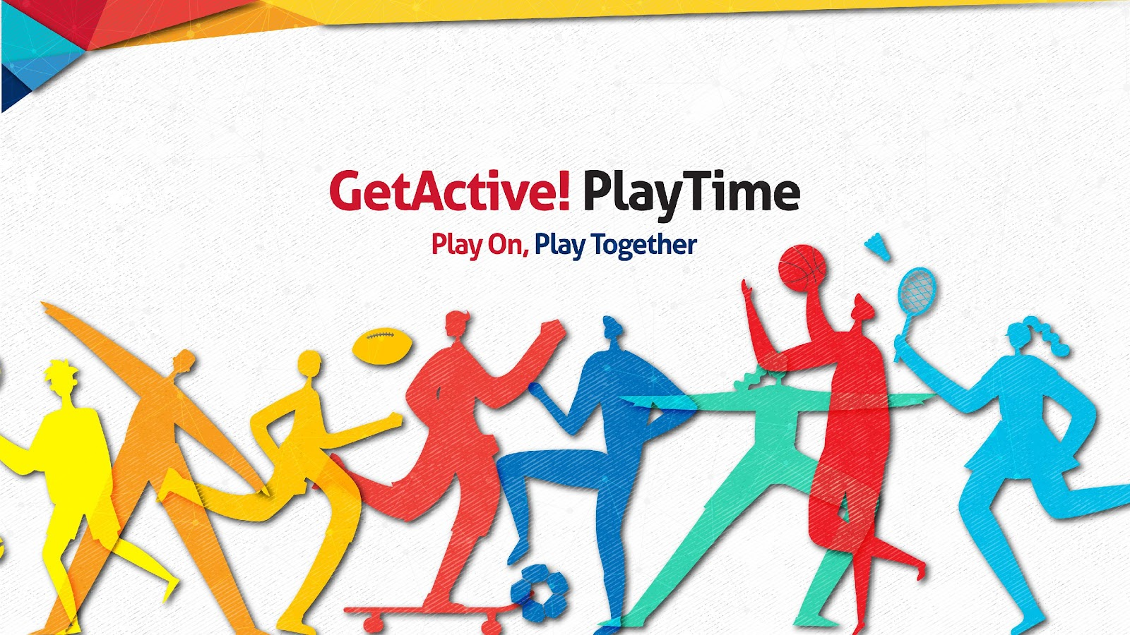 It's GetActive! Playtime, and everyone is invited!